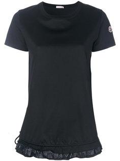 футболка с оборками Moncler