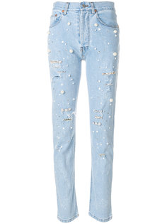 Vanessa cropped jeans Forte Couture