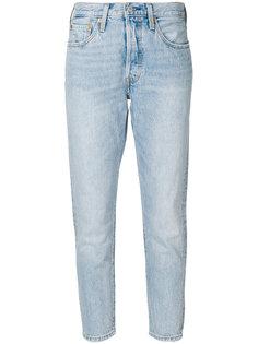 укороченные джинсы с выцветшим эффектом Levis Levis®