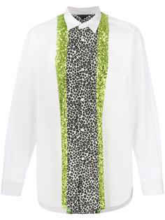 рубашка с леопардовым принтом Comme Des Garçons Homme Plus