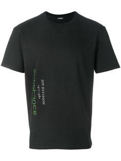 футболка со слоганом Raf Simons