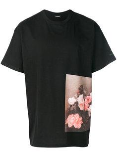 футболка с принтом в стиле оверсайз Raf Simons