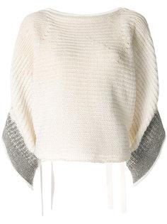 укороченный свитер в стиле оверсайз 3.1 Phillip Lim