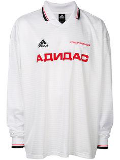 топ Gosha Rubchinskiy x Adidas с длинными рукавами Adidas