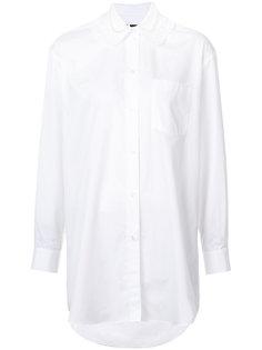 рубашка с декорированным воротником Simone Rocha