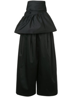 широкие брюки с баской на талии Tome