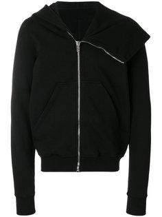 asymmetric collar hoodie Rick Owens DRKSHDW