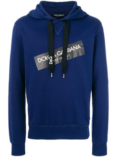 logo patch hoodie Dolce & Gabbana