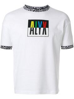 футболка с логотипом  Alix