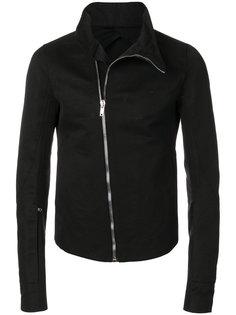 приталенная куртка с высоким воротником  Rick Owens