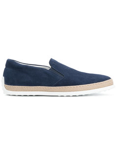 espadrille skate shoes Tods Tod`S