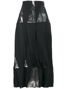 широкие брюки в стиле оригами  Issey Miyake