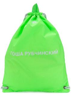 рюкзак с принтом логотипа Gosha Rubchinskiy ГОША РУБЧИНСКИЙ