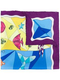платок с принтом Cha•Val Milano