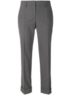 cropped tailored trousers Prada