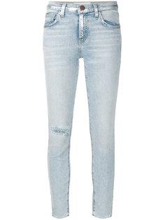 джинсы с высокой талией Current/Elliott