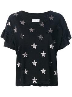 футболка Roadie с оборками Current/Elliott