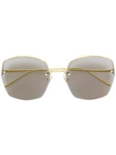 солнцезащитные очки в квадратной оправе Boucheron