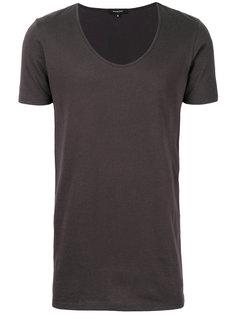 deep U-neck T-shirt Unconditional