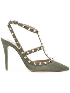 Rockstud ankle strap pumps Valentino