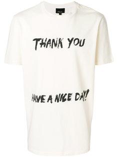 футболка с принтом 3.1 Phillip Lim