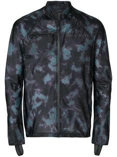 tie dye zipped running jacket Satisfy