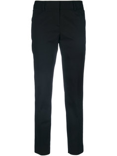 укороченные брюки слим  Alberto Biani