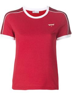футболка с заплаткой в форме стрекозы Red Valentino