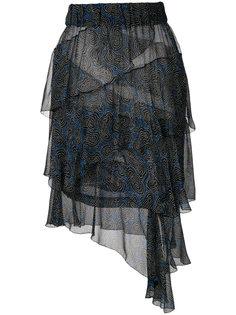 многослойная юбка с оборками Isabel Marant Étoile