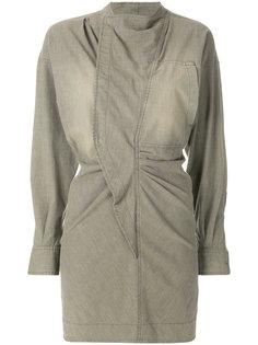 джинсовое платье со сборками Isabel Marant Étoile
