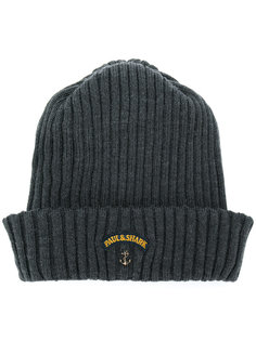 шапка-бини с заплаткой с логотипом Paul & Shark