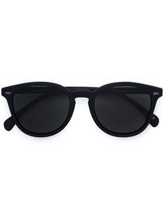 солнцезащитные очки в округлой оправе Le Specs