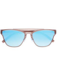 солнцезащитные очки в оправе квадратной формы Le Specs