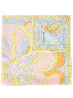 шарф с узорами Emilio Pucci