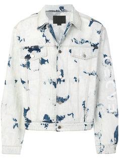джинсовая куртка с выцветшим эффектом Alexander Wang