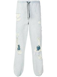 брюки из денима Alexander Wang
