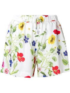 шорты с цветочным принтом  Blugirl