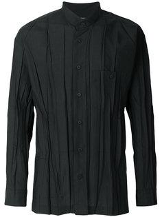 рубашка с мятым эффектом Issey Miyake Men