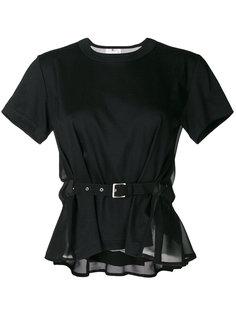 футболка с ремнем Comme Des Garçons Noir Kei Ninomiya