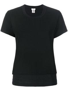 многослойная футболка Comme Des Garçons Noir Kei Ninomiya