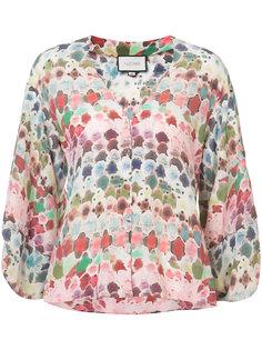 блузка с абстрактным рисунком Alexis
