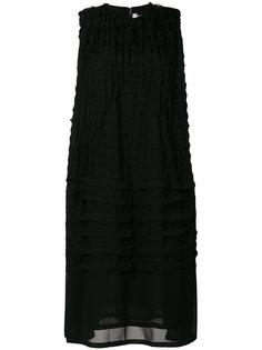 плиссированное платье миди  Comme Des Garçons Noir Kei Ninomiya