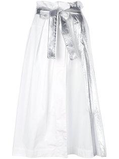 длинная юбка с завязкой  Paco Rabanne