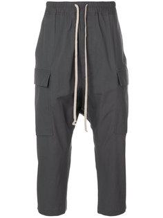укороченные зауженные брюки Rick Owens