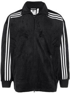 велюровая спортивная куртка Beckenbauer Adidas