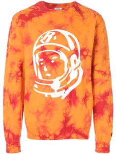 bleached logo sweatshirt Billionaire Boys Club