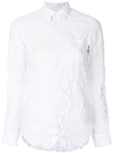 рубашка с мятым эффектом  Junya Watanabe Comme Des Garçons