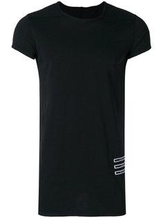 футболка с вышитым слоганом Rick Owens DRKSHDW