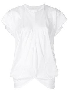 асимметричная футболка  Junya Watanabe Comme Des Garçons