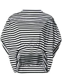укороченная блузка в полоску  Junya Watanabe Comme Des Garçons